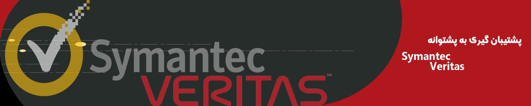 پشتیبان گیری به پشتوانه Symantec Veritas
